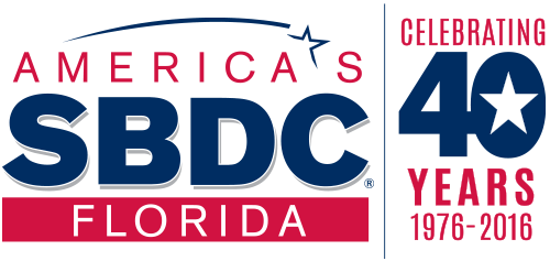 FSBDC Celebrating 40 years logo